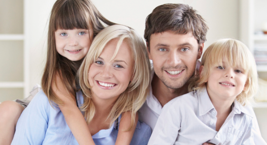 Family Enjoying Home Without Pests